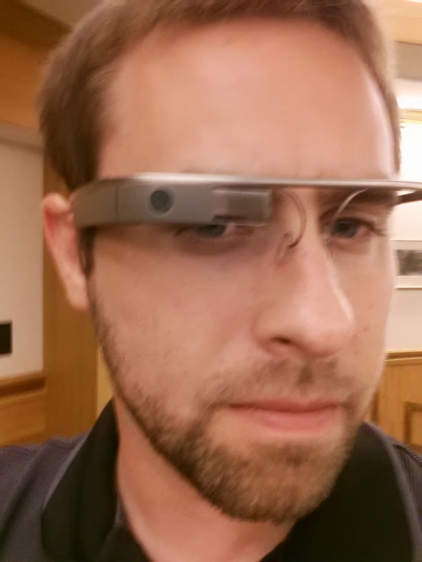 Selfie Wearing Google Glass